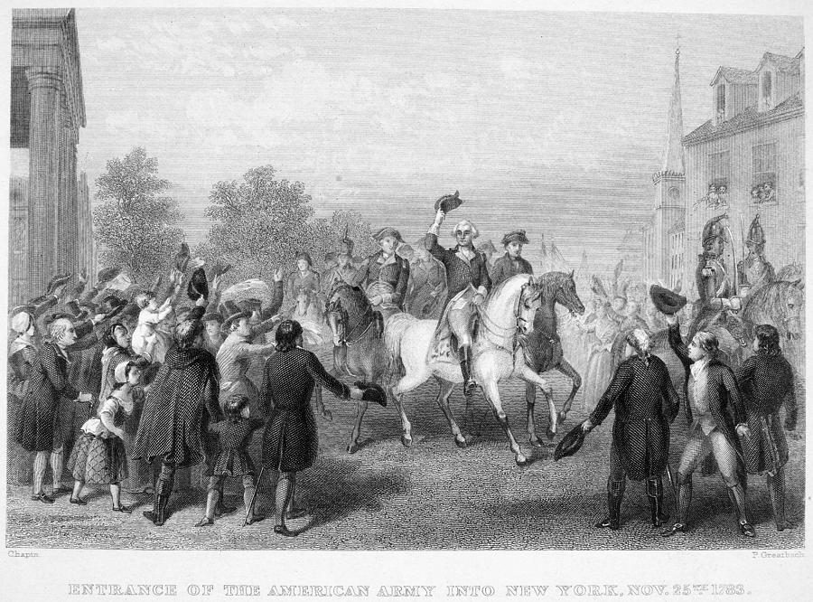 New York: Washington, 1783 Photograph