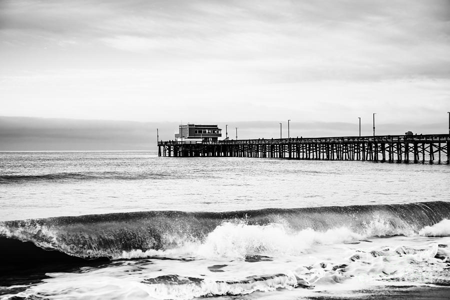 Newport Beach Pier Photograph  - Newport Beach Pier Fine Art Print