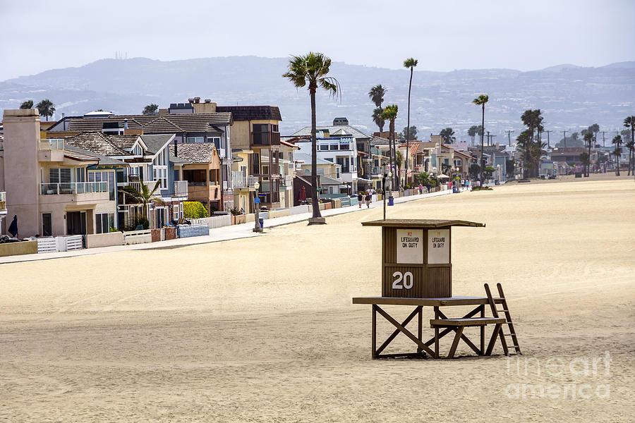 Newport Beach Waterfront Luxury Homes Photograph