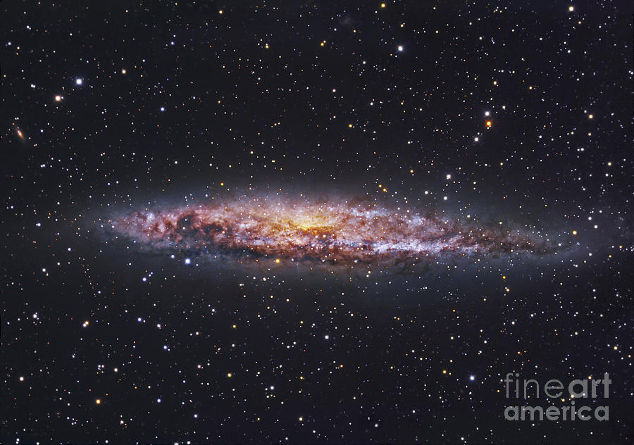 Ngc 4945, Starburst Galaxy In Centaurus Photograph  - Ngc 4945, Starburst Galaxy In Centaurus Fine Art Print