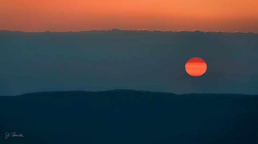 Ngorongoro Sunset Photograph