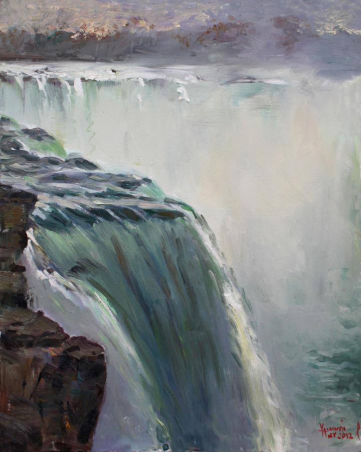 Niagara Falls Ny Painting