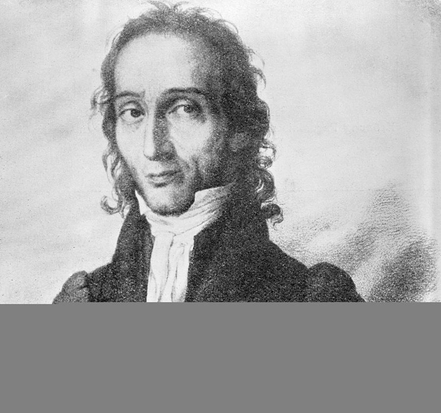 Nicholo Paganini Photograph - Nicholo Paganini, Italian Violinist by Science Photo Library