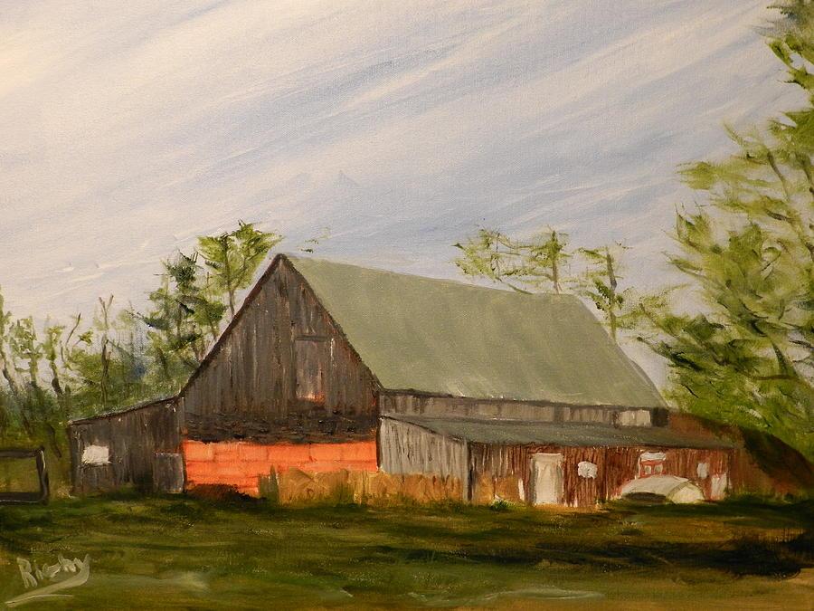 Nicholson Farm Painting