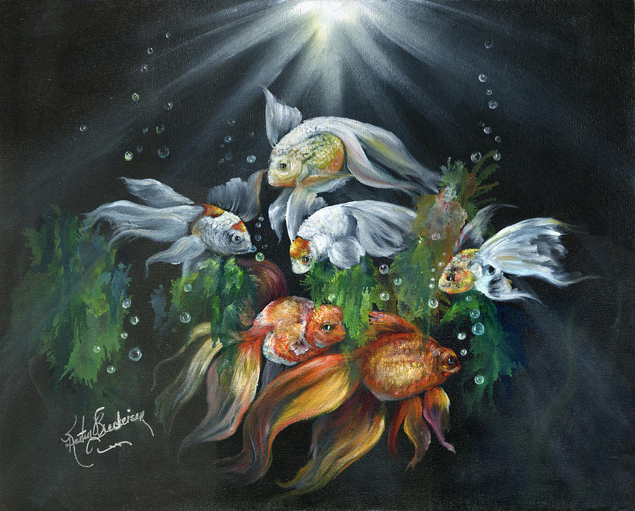 Nicks Aquarium is a painting by Kathy Brecheisen which was uploaded on ...