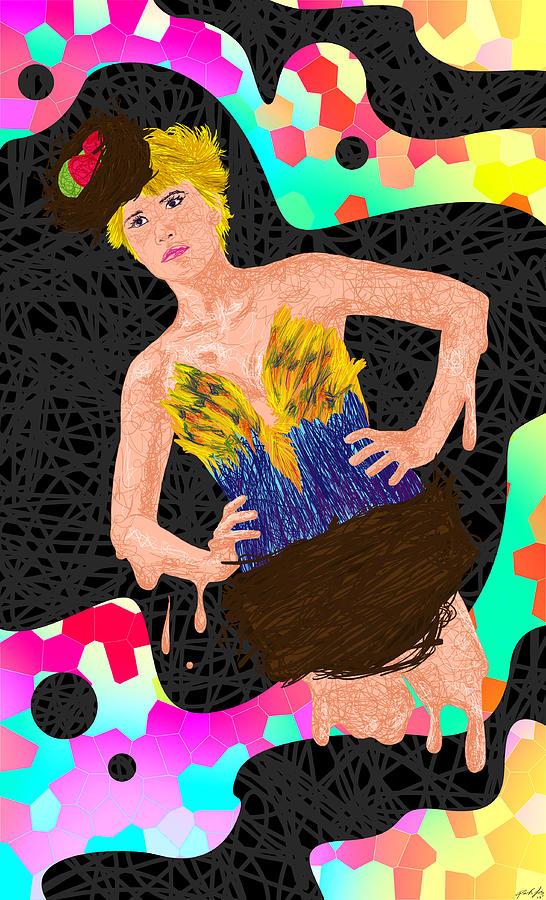 Nid Doiseau De Angela Balderston Painting