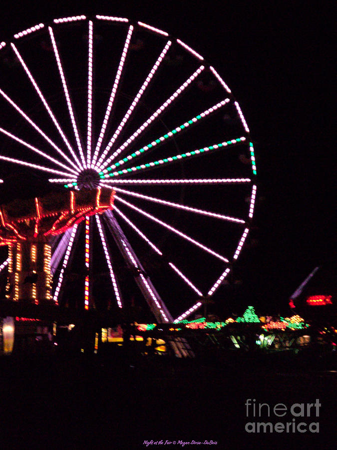 Night At The Fair Photograph