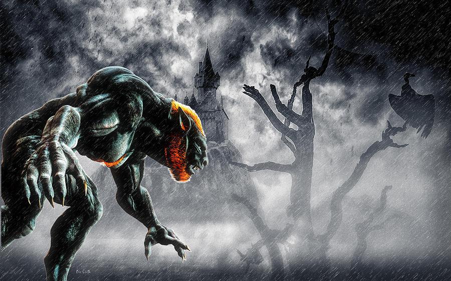 Night Of The Lycan Digital Art