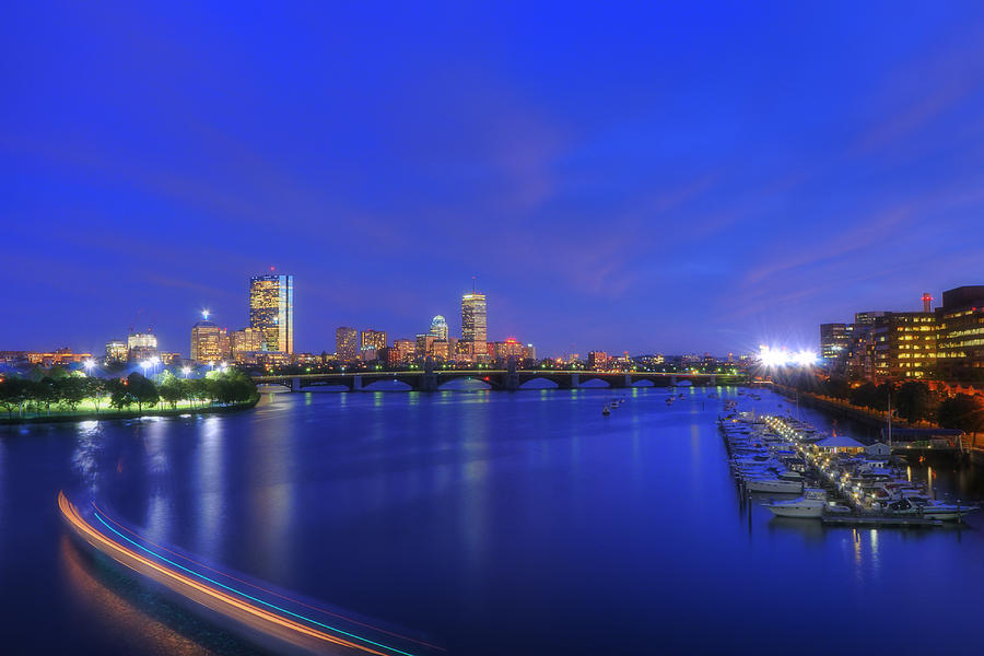 Night On The Charles 2 Photograph