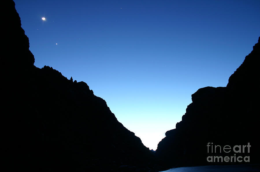 Grand Canyon Photograph - Night On The Grand by Crystal Magee