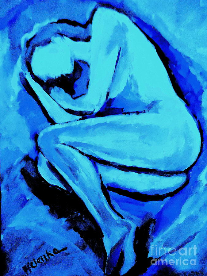 Night S Embrace Painting