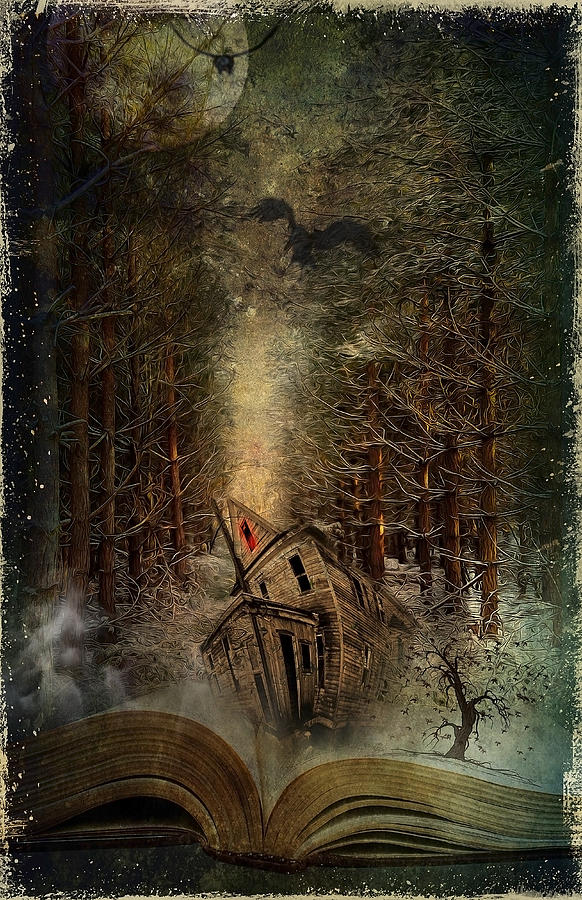 Night Story Digital Art  - Night Story Fine Art Print