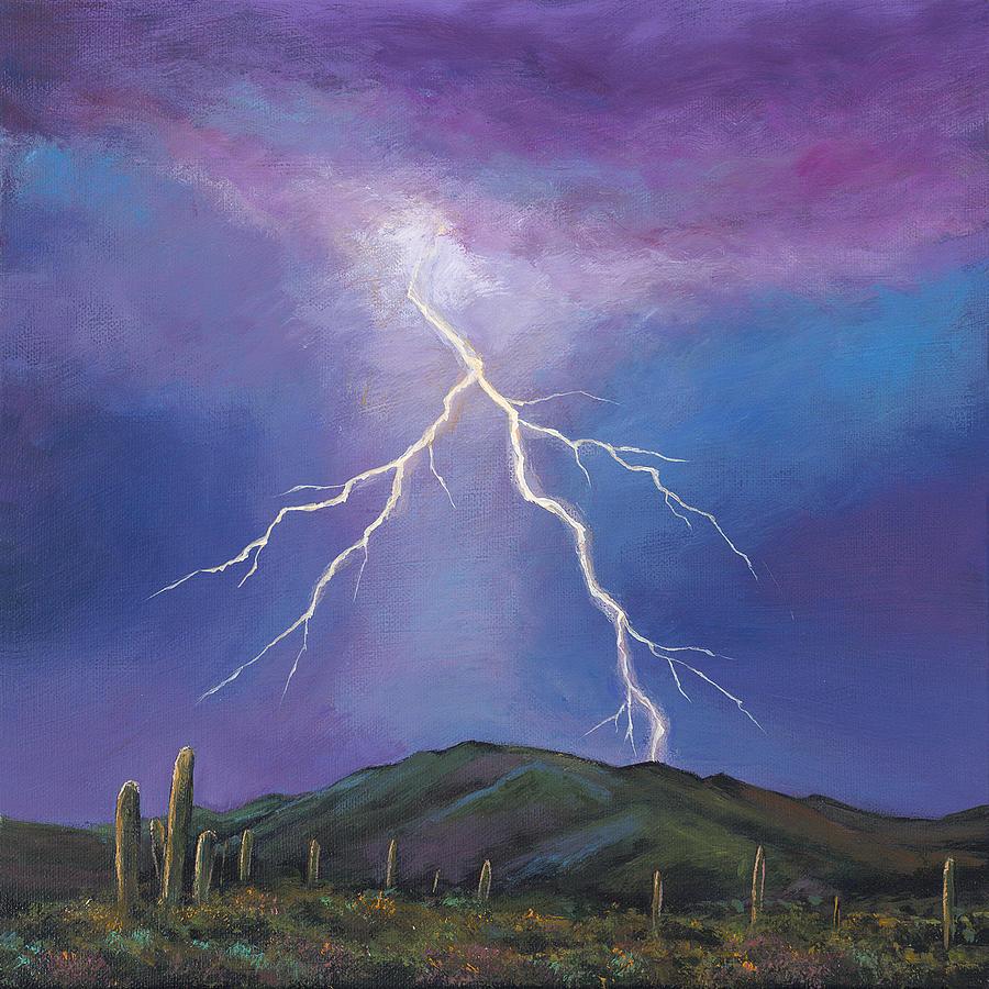 Night Strike Painting