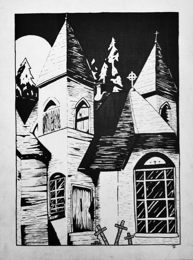 Night Drawing - Night Whispers  by Rachel  Ledford