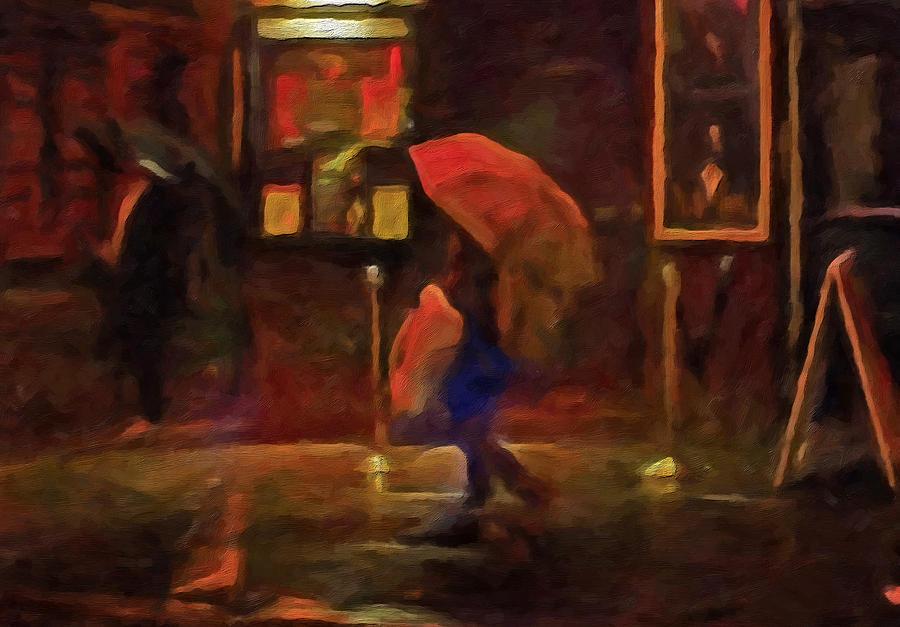 Nightlight Painting - Nightlife by Michael Pickett