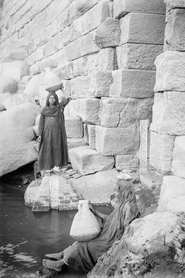 Nilometer On Elephantine Island, Egypt Photograph