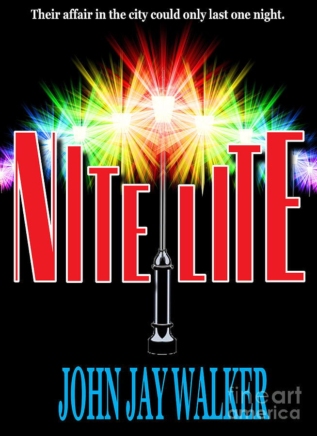 Book Cover Photograph - Nite Lite Book Cover by Mike Nellums