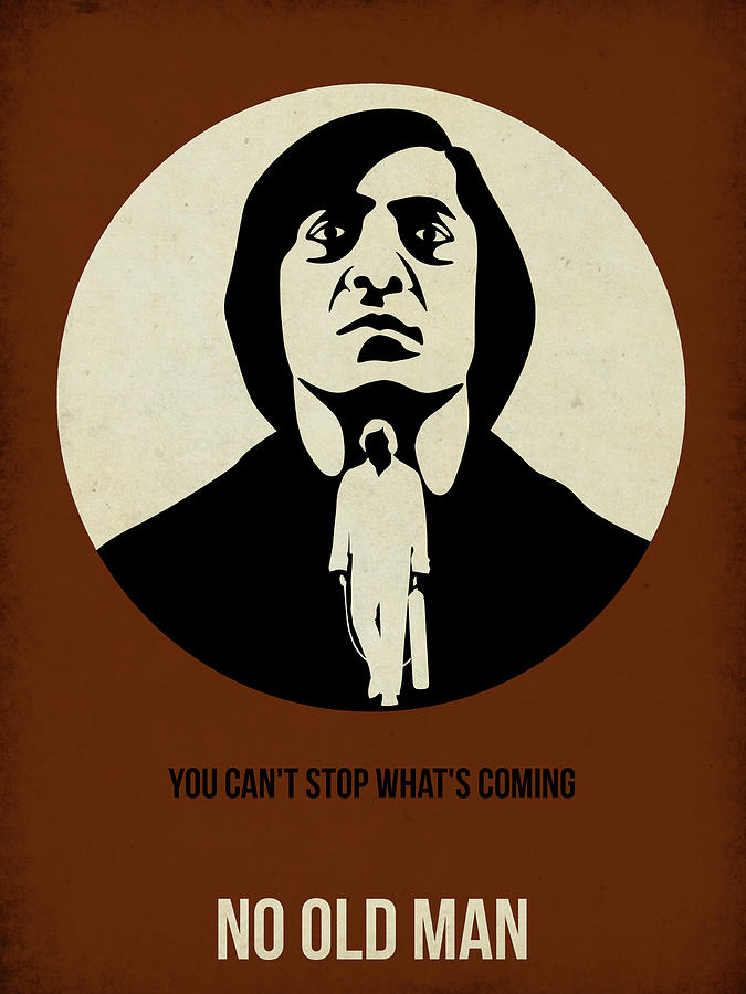 No Country For Old Man Poster Painting