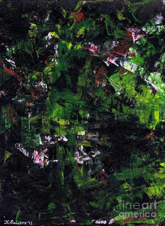 No Leaf Clover Painting - No Leaf Clover - Left  by Kamil Swiatek