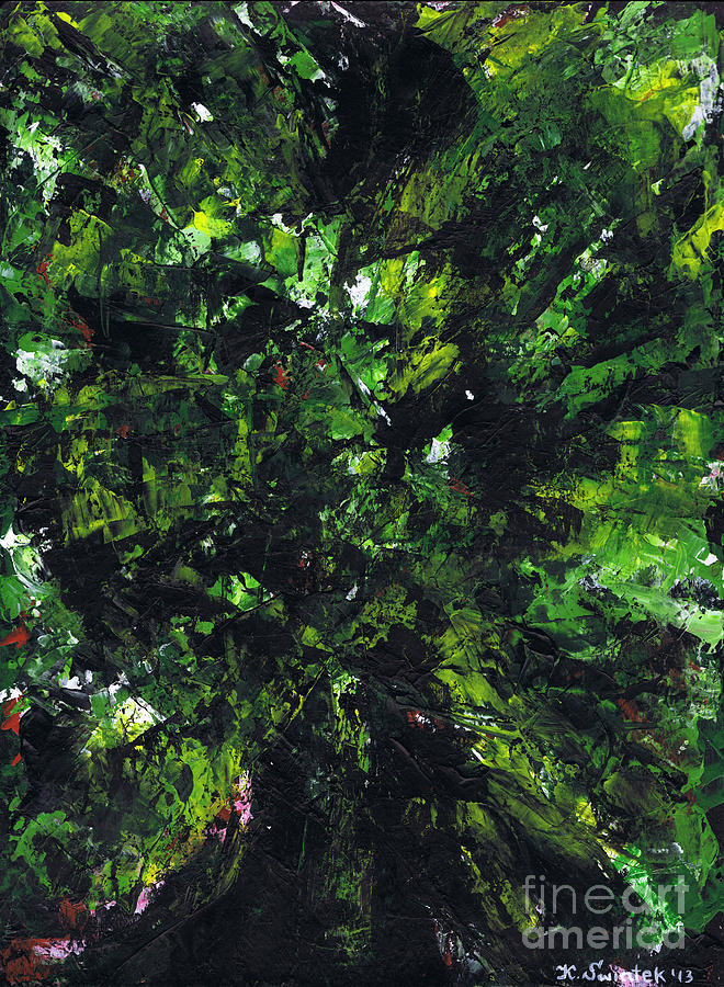 No Leaf Clover - Middle Painting