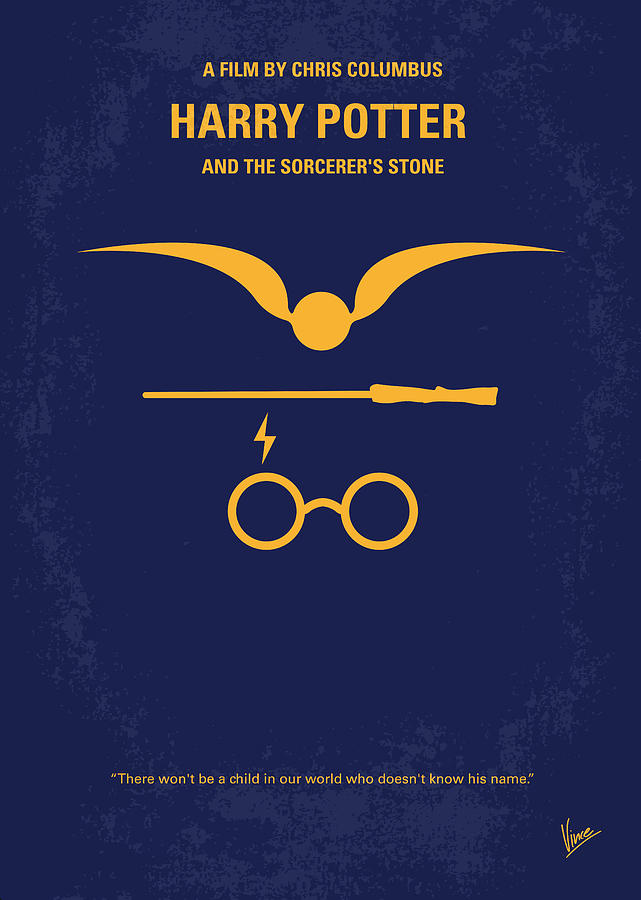 No101 My Harry Potter Minimal Movie Poster Digital Art by Chungkong ...
