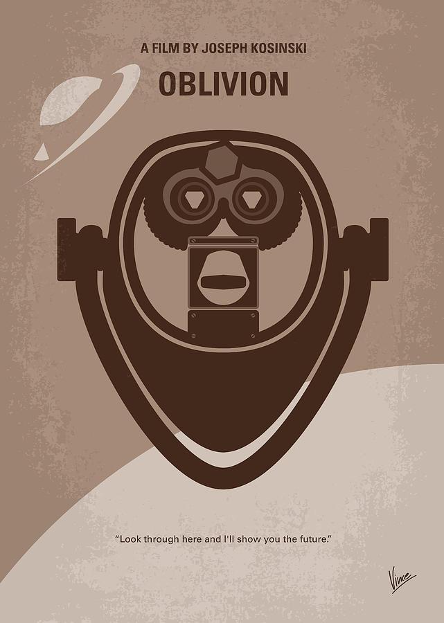 Oblivion Digital Art - No217 My Oblivion Minimal Movie Poster by Chungkong Art