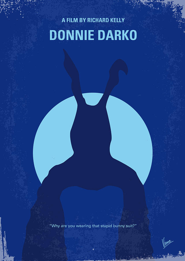 No295 My Donnie Darko Minimal Movie Poster Digital Art