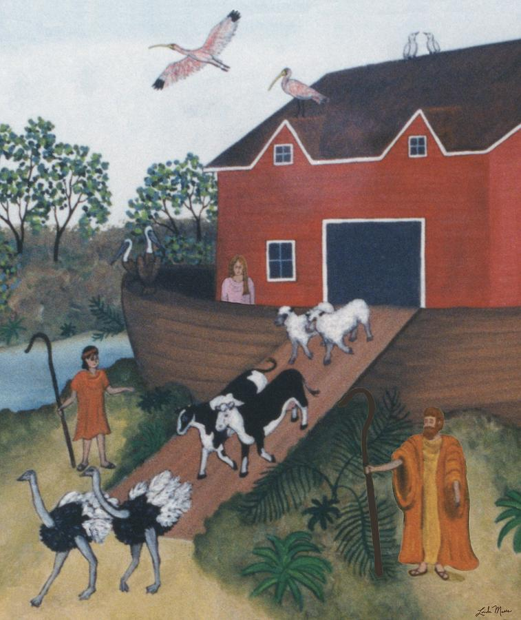 Noahs Ark Two Painting