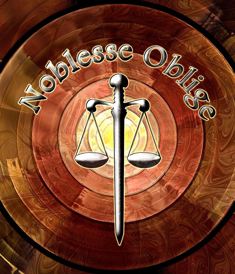 Noblesse Oblige Digital Art