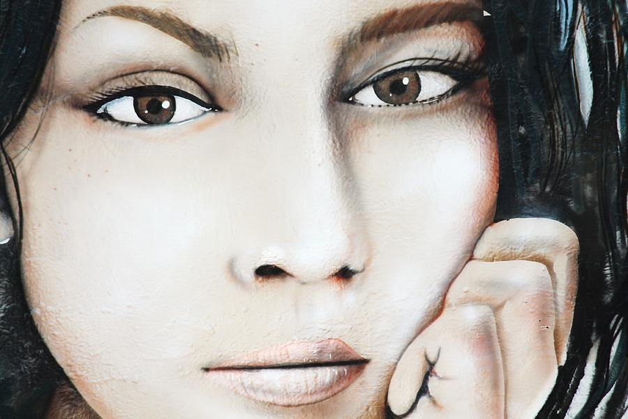 Norah Jones Mural Photograph