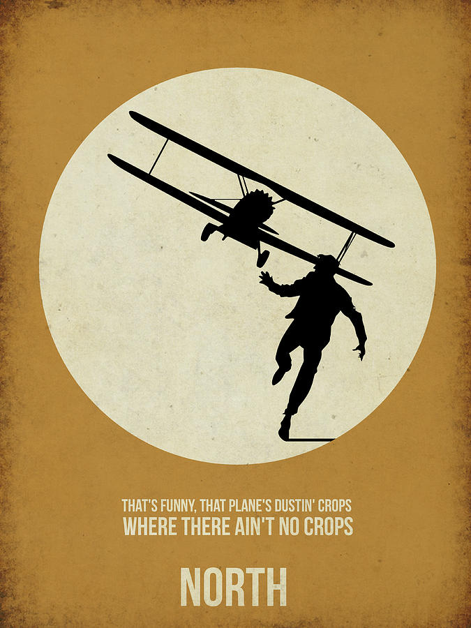 North By Northwest Poster  North By Northwest Minimalist Poster