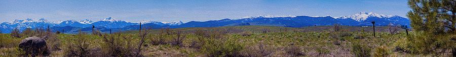 North Cascades Game Range Panorama Photograph
