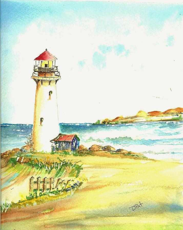 North Coast Light House Painting