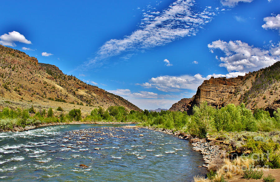 North Fork Of The Shoshone River Photograph  - North Fork Of The Shoshone River Fine Art Print