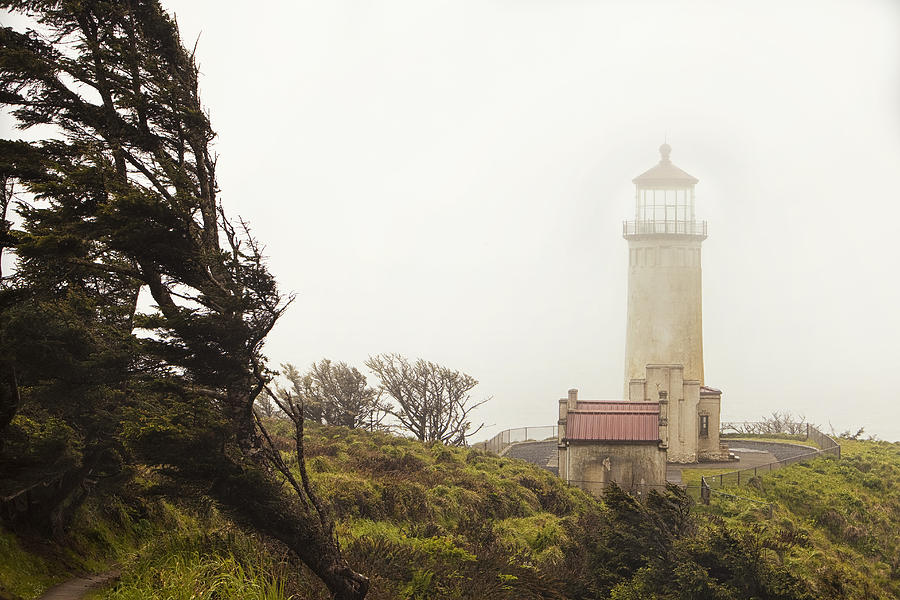 Lighthouse Photograph - North Head Lighthouse by Andrew Soundarajan
