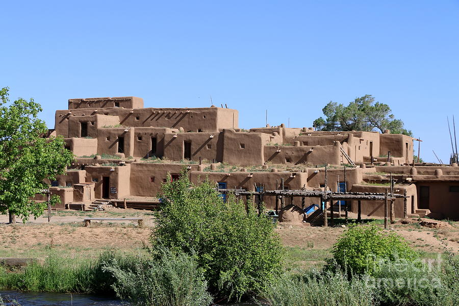 North House Of The Pueblo Photograph