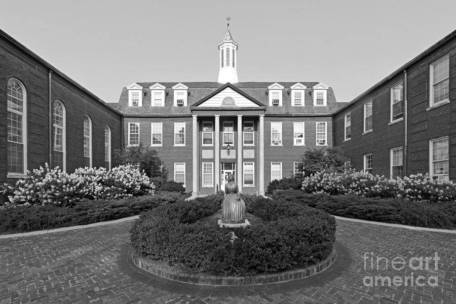 North Park College Nyvall Hall Photograph  - North Park College Nyvall Hall Fine Art Print