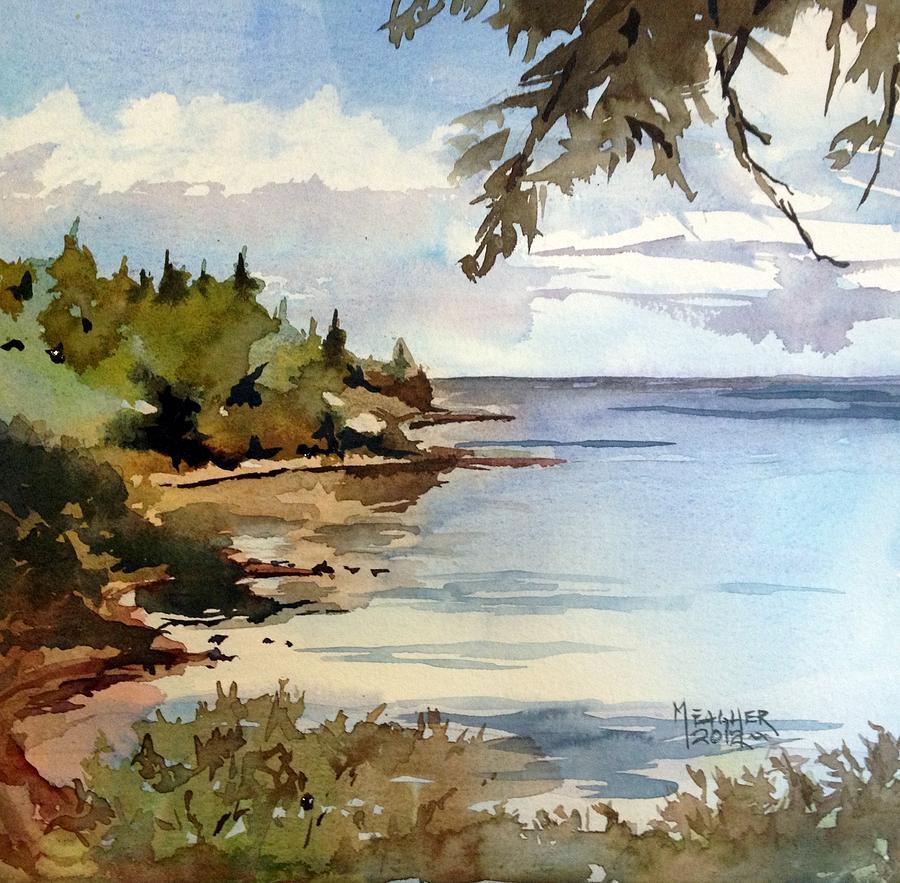 North Shore Lake Superior Painting