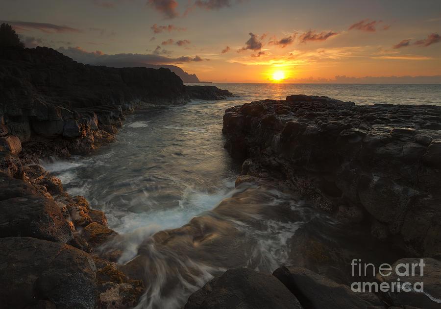 Na Pali Photograph - North Shore Paradise by Mike  Dawson