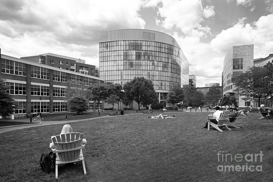 Northeastern University Behrakis Health Sciences Center Photograph  - Northeastern University Behrakis Health Sciences Center Fine Art Print