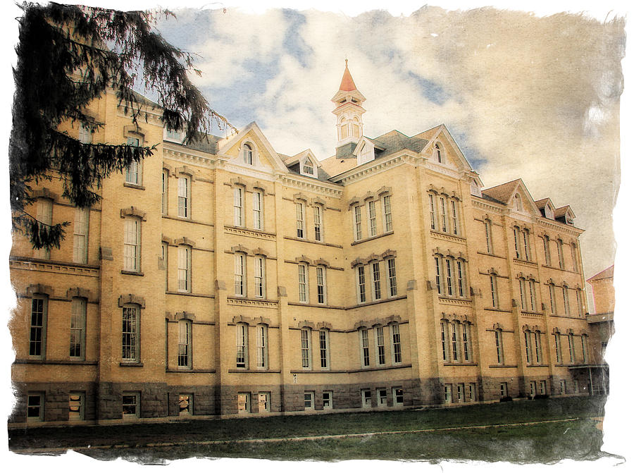 Northern Michigan Asylum Photograph