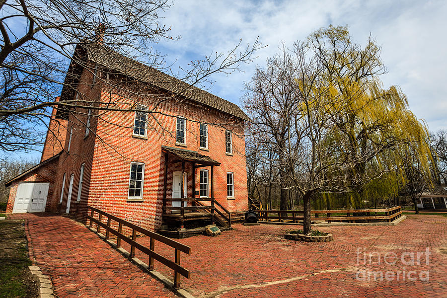 Northwest Indiana Grist Mill Photograph