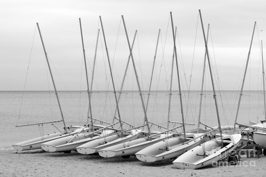 Northwestern University Sailing Beach Photograph