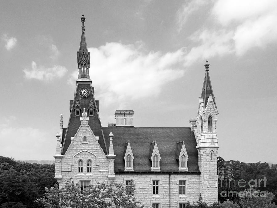 Northwestern University - University Hall Photograph