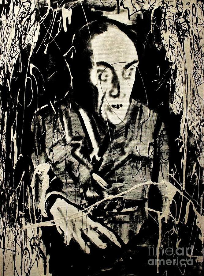 Nosferatu Painting