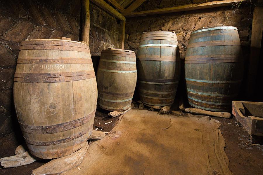 nostalgia-old-barrels-in-a-farm-matthias-hauser