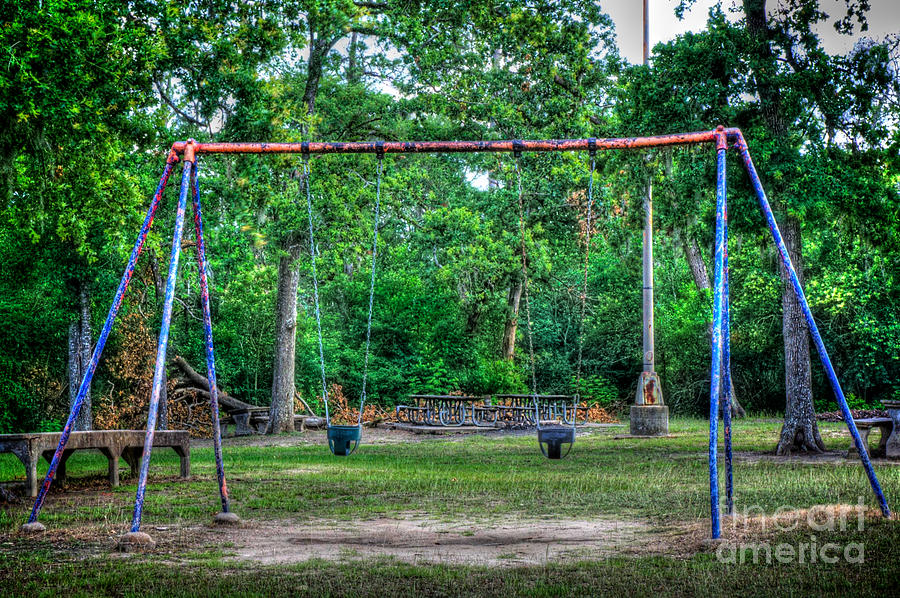 Swing Photograph - Nostalgia by Will Cardoso