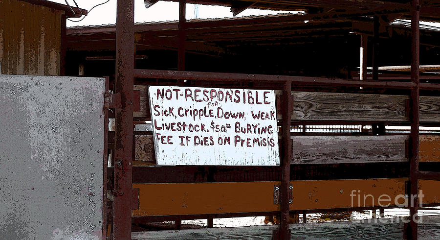 Not Responsible Photograph