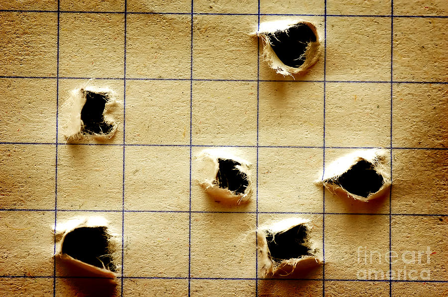 Notebook With Holes Photograph  - Notebook With Holes Fine Art Print