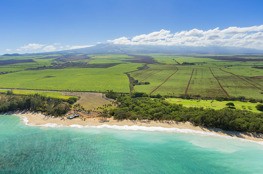 Nothern Maui Aerial Photograph